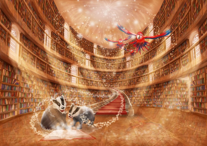 Magic Library re-sized